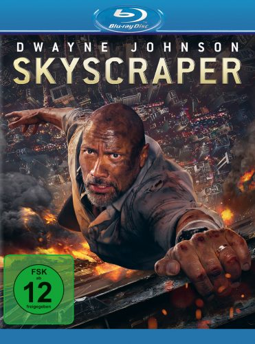 skyscraper blu-ray review cover