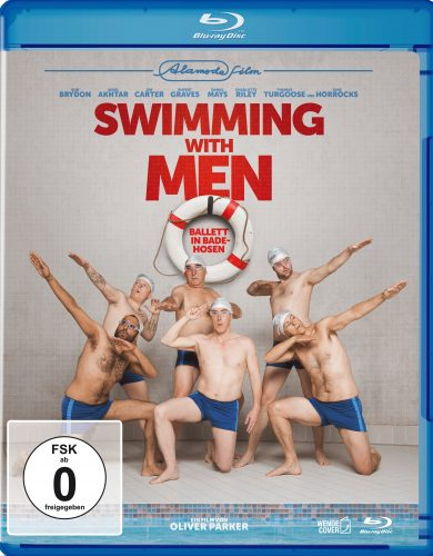 swimming with men blu-ray review cover