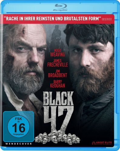 black 47 blu-ray review cover