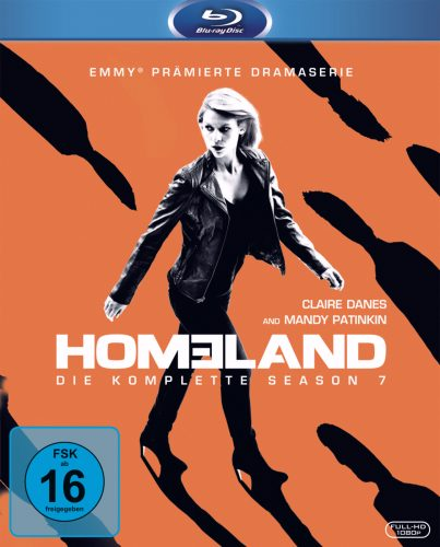 homeland season 7 blu-ray review cover
