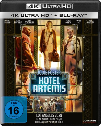hotel artemis 4k uhd blu-ray review cover