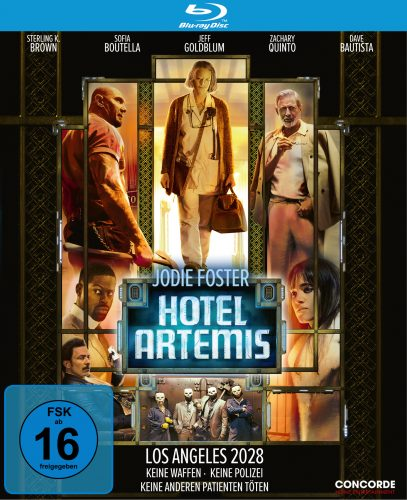 hotel artemis blu-ray review cover
