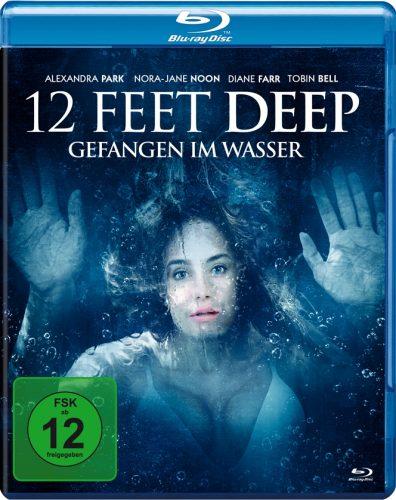 12 feet deep gefangen im wasser blu-ray review cover