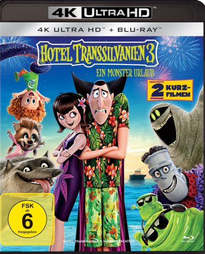 hotel transsilvanien 3 4k uhd blu-ray review cover