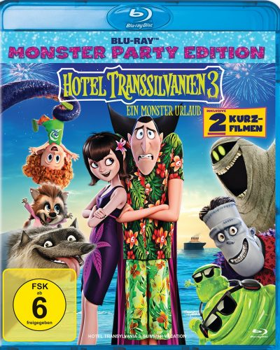 hotel transsilvanien 3 blu-ray review cover
