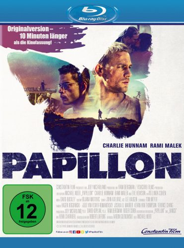 papillon blu-ray review cover