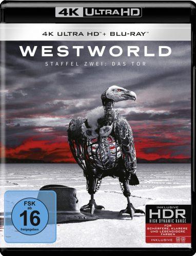 westworld season 2 4k uhd blu-ray review cover