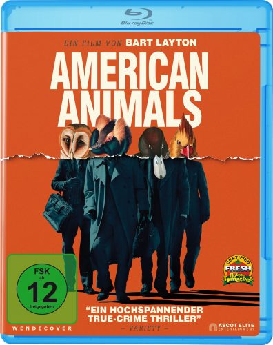 american animals blu-ray review cover