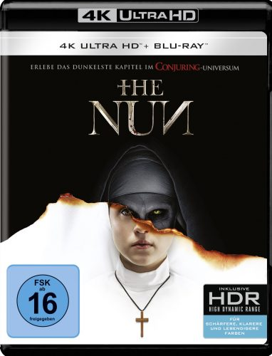 the nun 4k uhd blu-ray review cover