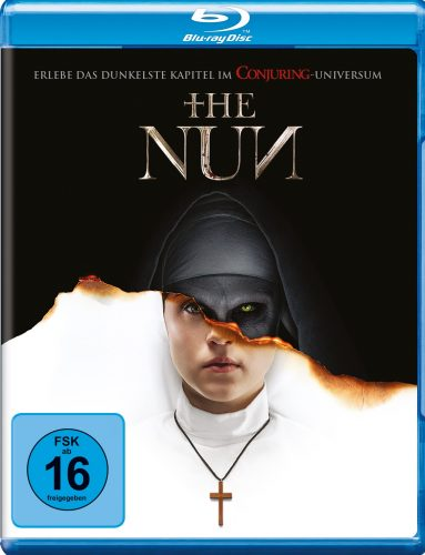 the nun blu-ray review cover
