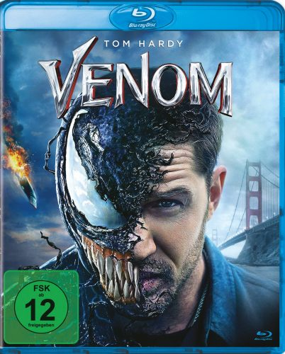 venom blu-ray review cover