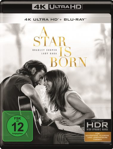 a star is born 4k uhd blu-ray review cover