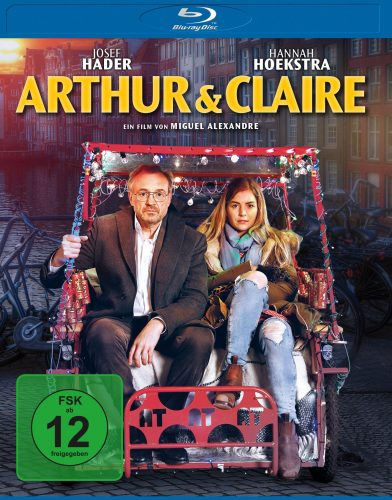arthur & claire blu-ray review cover