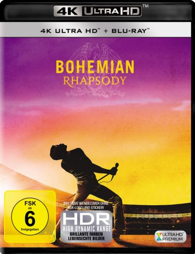 bohemian rhapsody 4k uhd blu-ray review cover