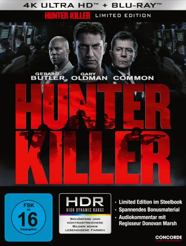 hunter killer 4k uhd blu-ray review cover