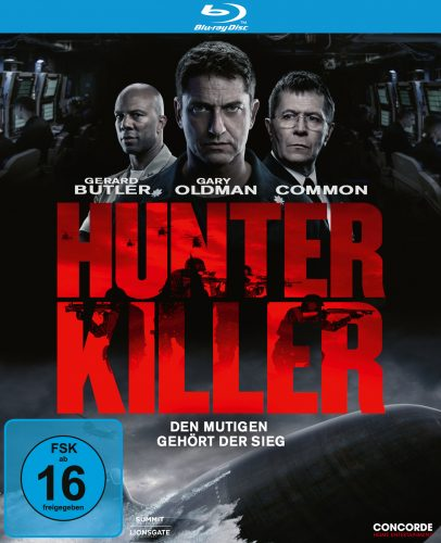 hunter killer blu-ray review cover