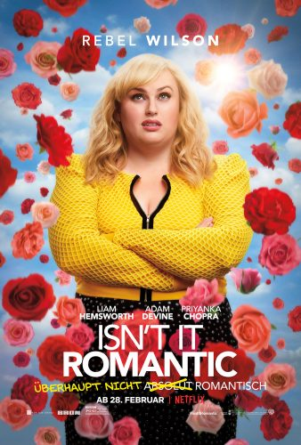 isn't it romantic netflix review cover