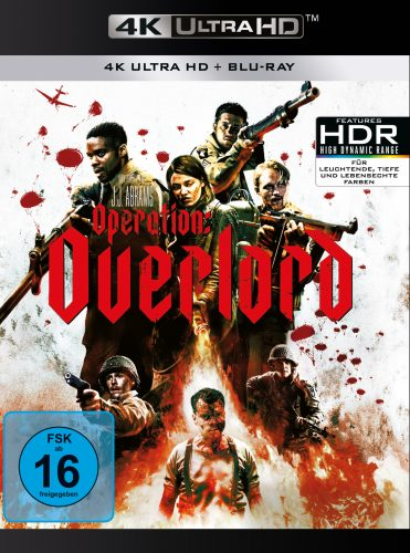 operation overlord 4k uhd blu-ray review cover