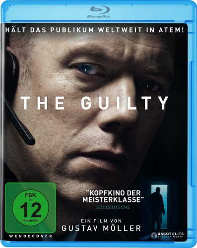 the guilty blu-ray review cover