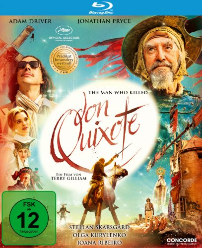 the man who killed don quixote blu-ray review cover