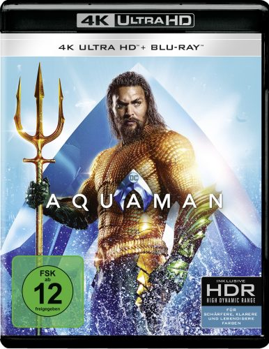 aquaman 4k uhd blu-ray review cover