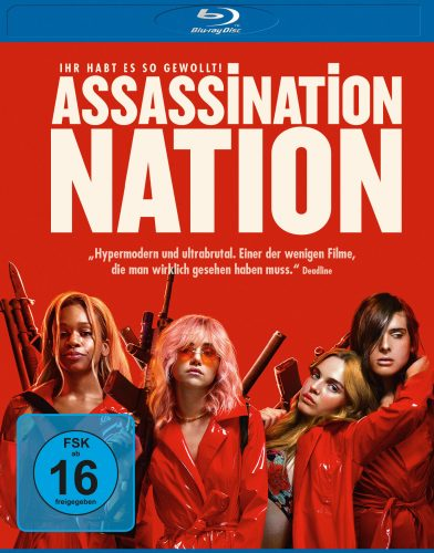 assassination nation blu-ray review cover