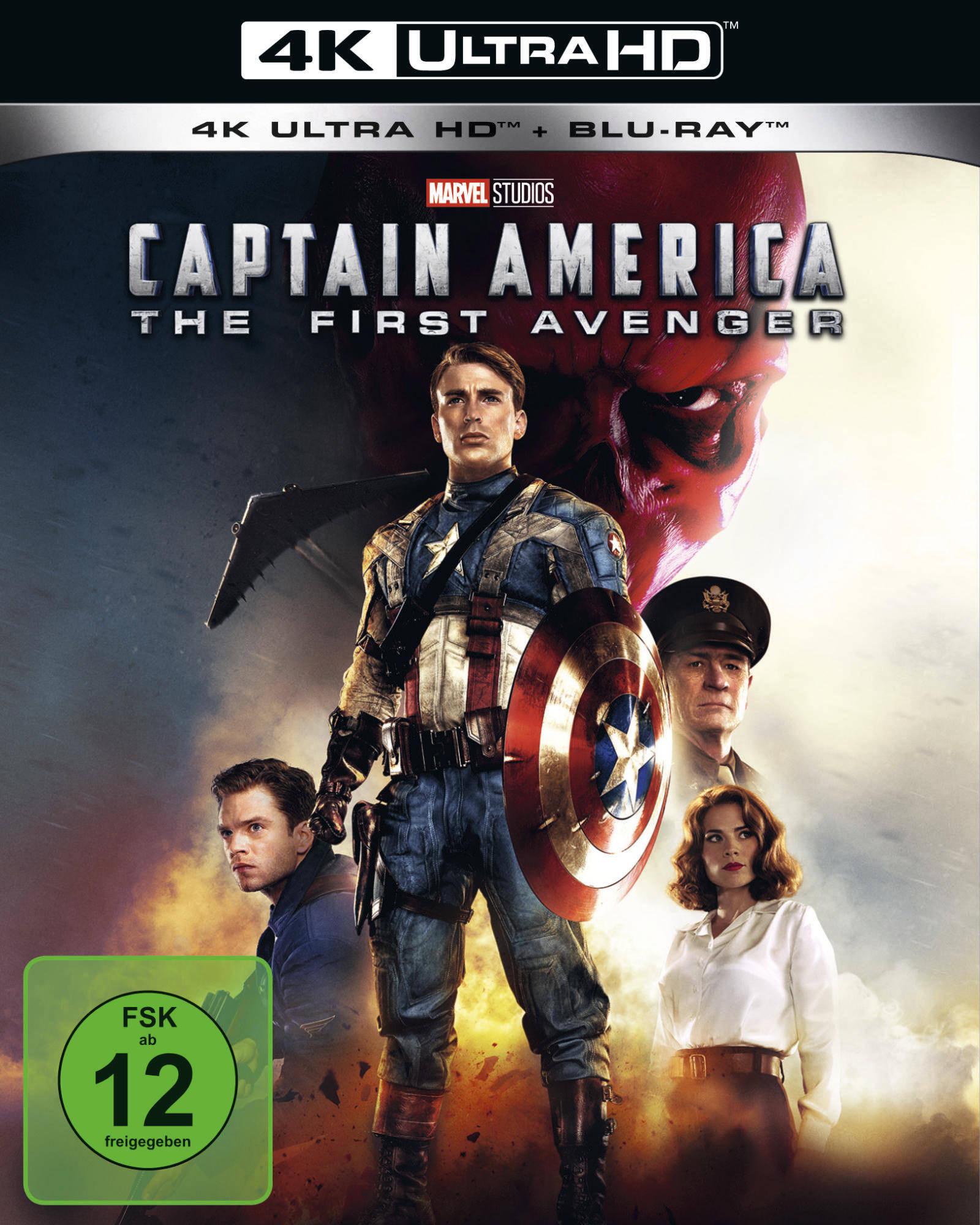 UHD Blu ray Kritik   Captain America First Avenger 20K Review ...