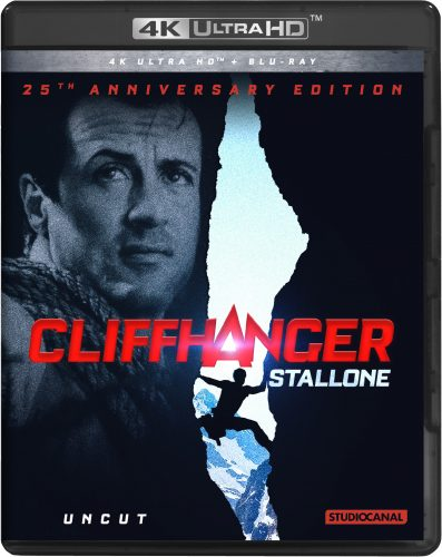 cliffhanger 4k uhd blu-ray review cover