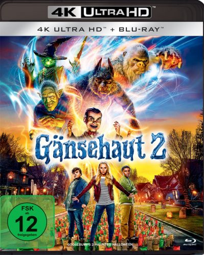 gänsehaut 2 4k uhd blu-ray review cover
