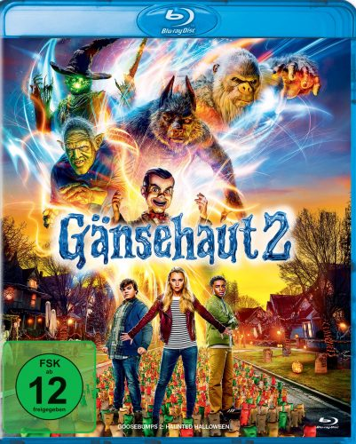 gänsehaut 2 blu-ray review cover