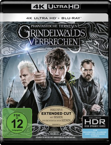 phantastische tierwesen grindelwalds verbrechen 4K UHD blu-ray review cover