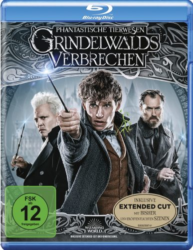 phantastische tierwesen grindelwalds verbrechen blu-ray review cover