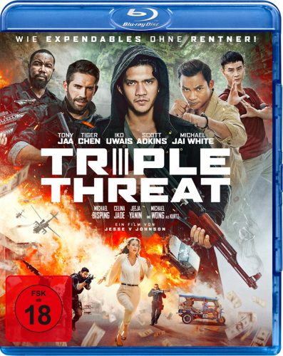 triple threat blu-ray review cover