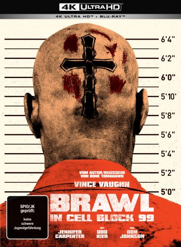 brawl in cell block 99 mediabook uncut 4k uhd blu-ray review cover