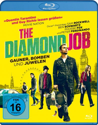 diamond job gauner bomben und juwelen blu-ray review cover