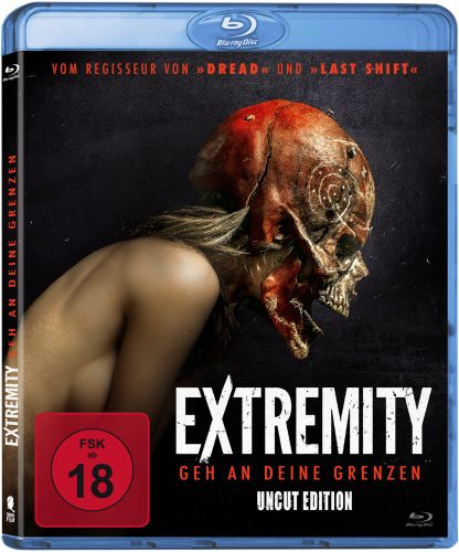 extremity - geh an deine grenzen blu-ray review cover