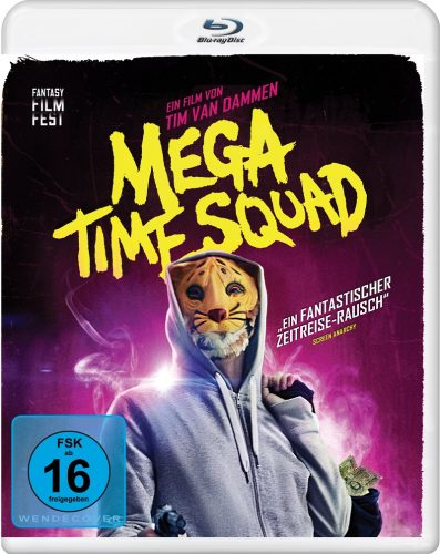 mega time squad blu-ray review cover