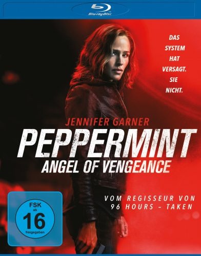peppermint - angel of vengeance blu-ray review cover
