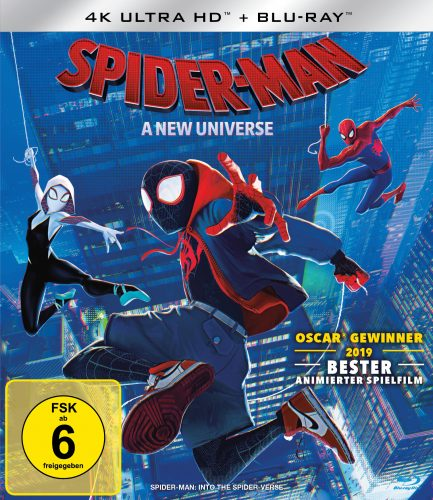 spider-man a new universe 4k uhd blu-ray review cover