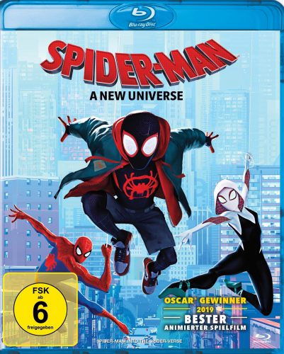 spider-man a new universe blu-ray review cover