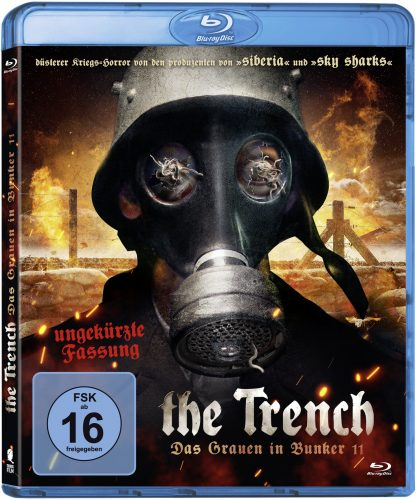the trench - das grauen in bunker 11 blu-ray review cover