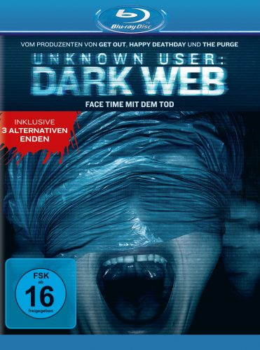 unknown user dark web blu-ray review cover