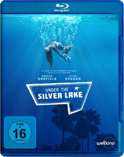 unter the silver lake blu-ray review cover
