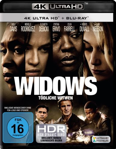 widows 4k uhd blu-ray review cover