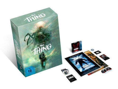 The Thing modern blu-ray review cover