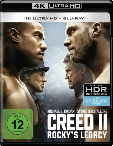 creed 2 rockys legacy 4k uhd blu-ray review cover
