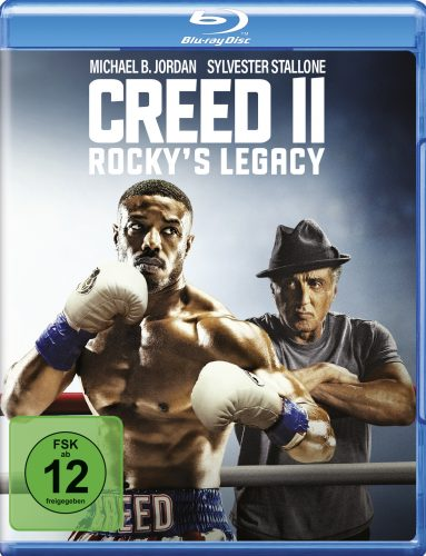 creed 2 rockys legacy blu-ray review cover