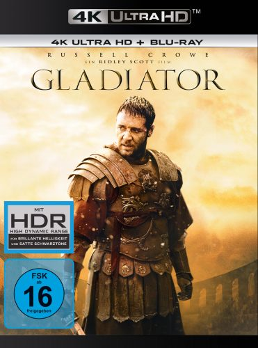 gladiator 4k uhd amaray blu-ray review cover