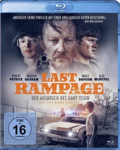 last rampage - ausbruch des gary tison blu-ray review cover