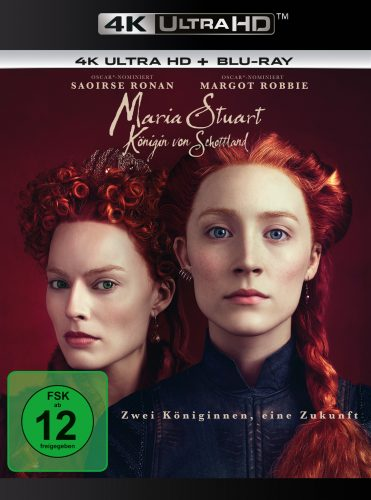 maria stuart - königin von schottland 4k uhd blu-ray review cover